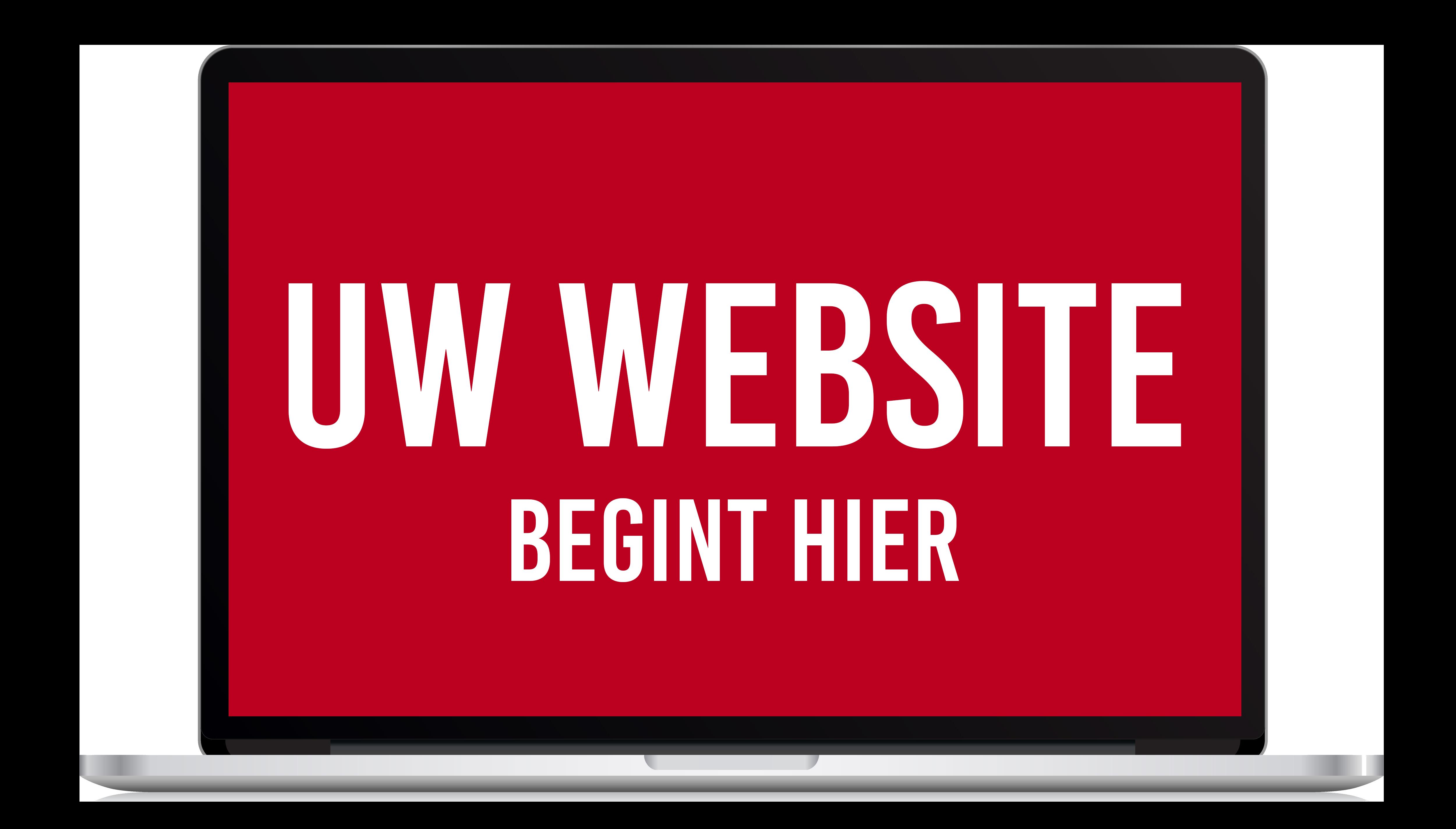 Uw website begint hier!