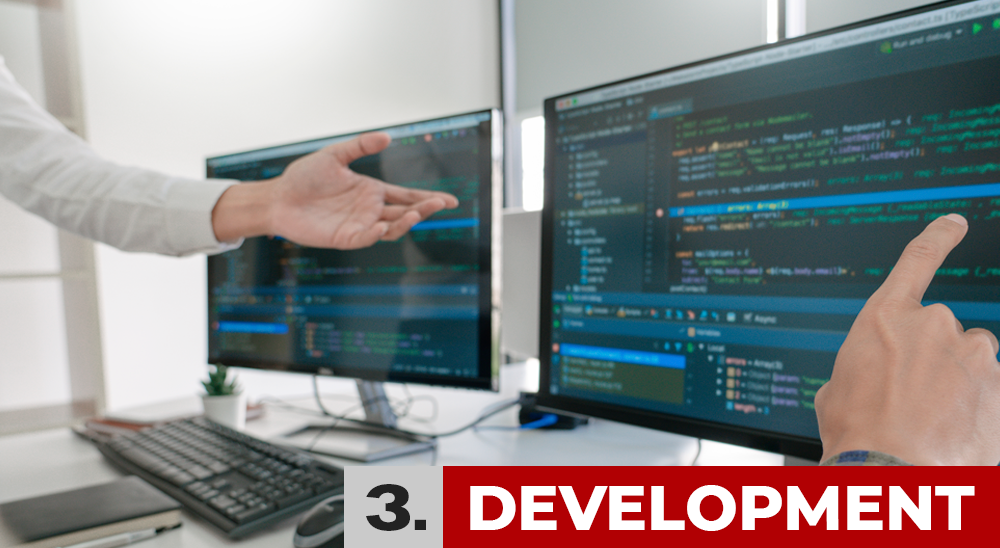 Werkwijze Fase 3: Development