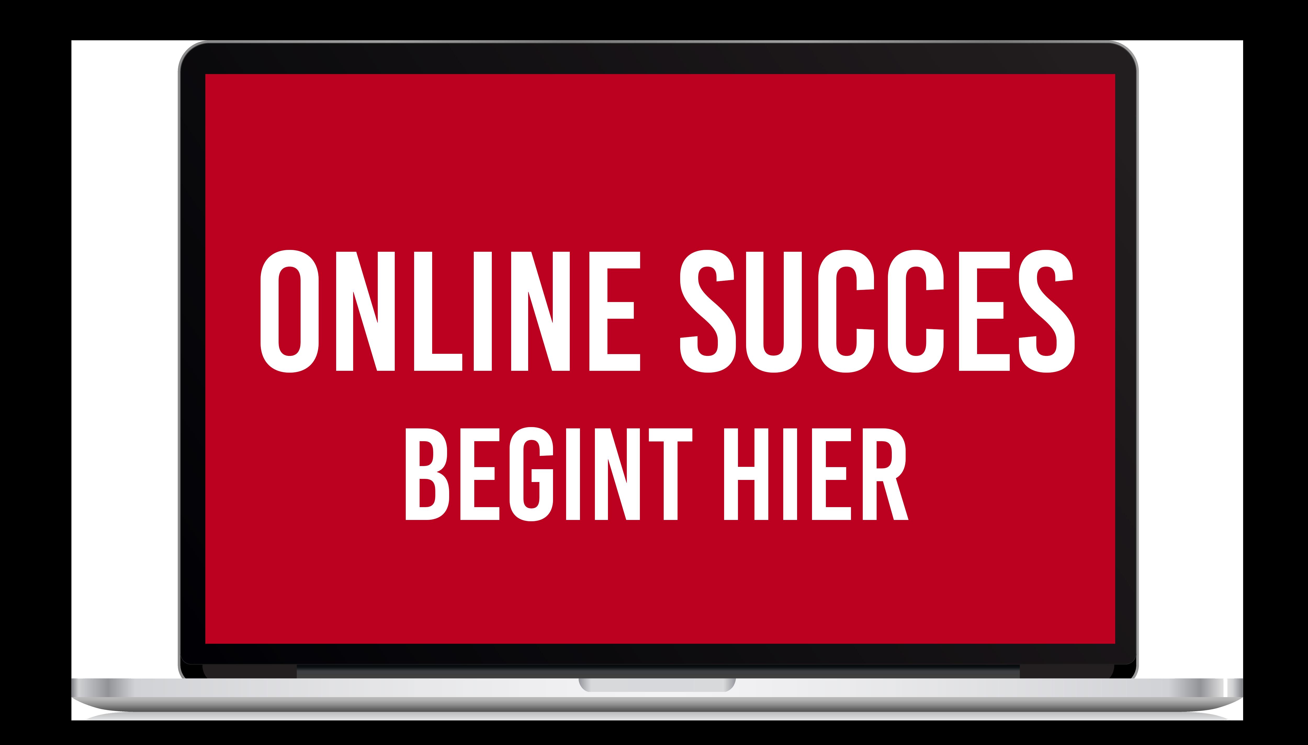 Online Succes begint hier
