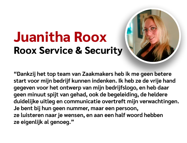 Zaakmakers - Review Juanitha Roox