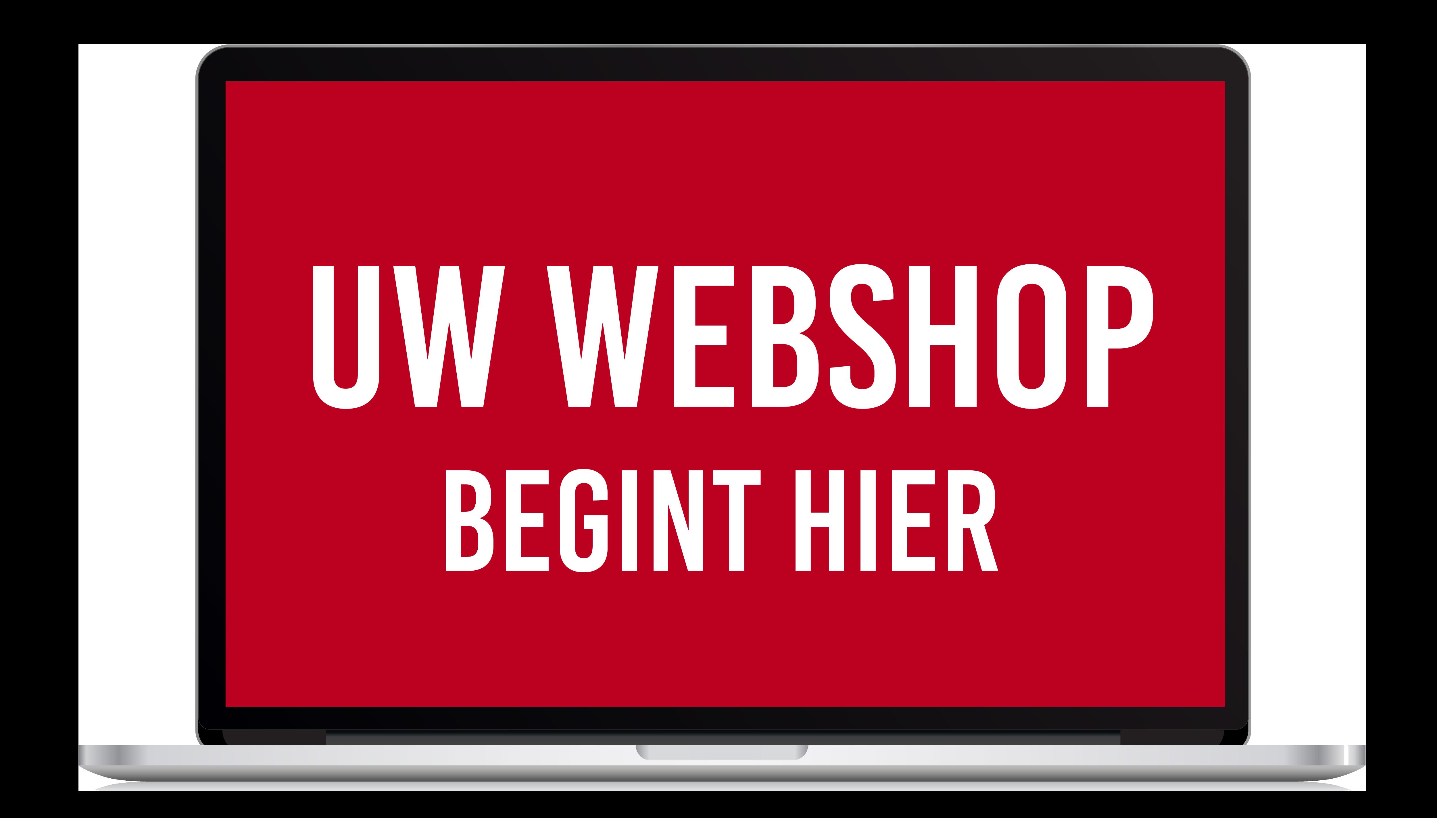 Uw Webshop begint hier